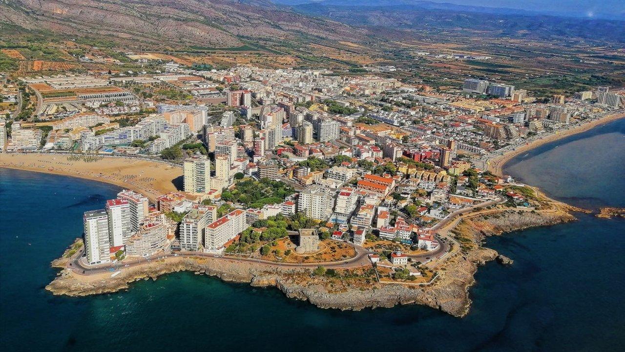 Vista aérea de Oropesa del Mar, Castellón
