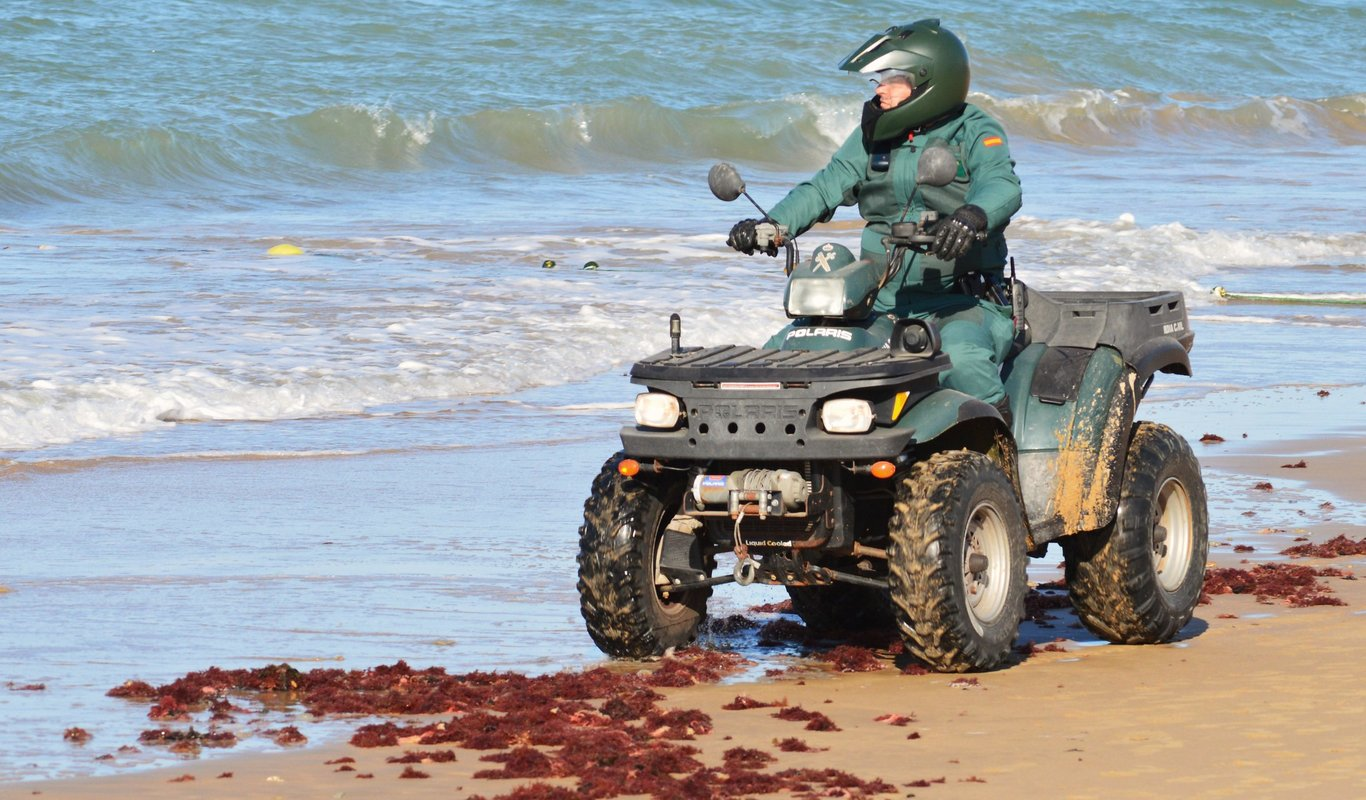 Guardia Civil en Rota, Cádiz
