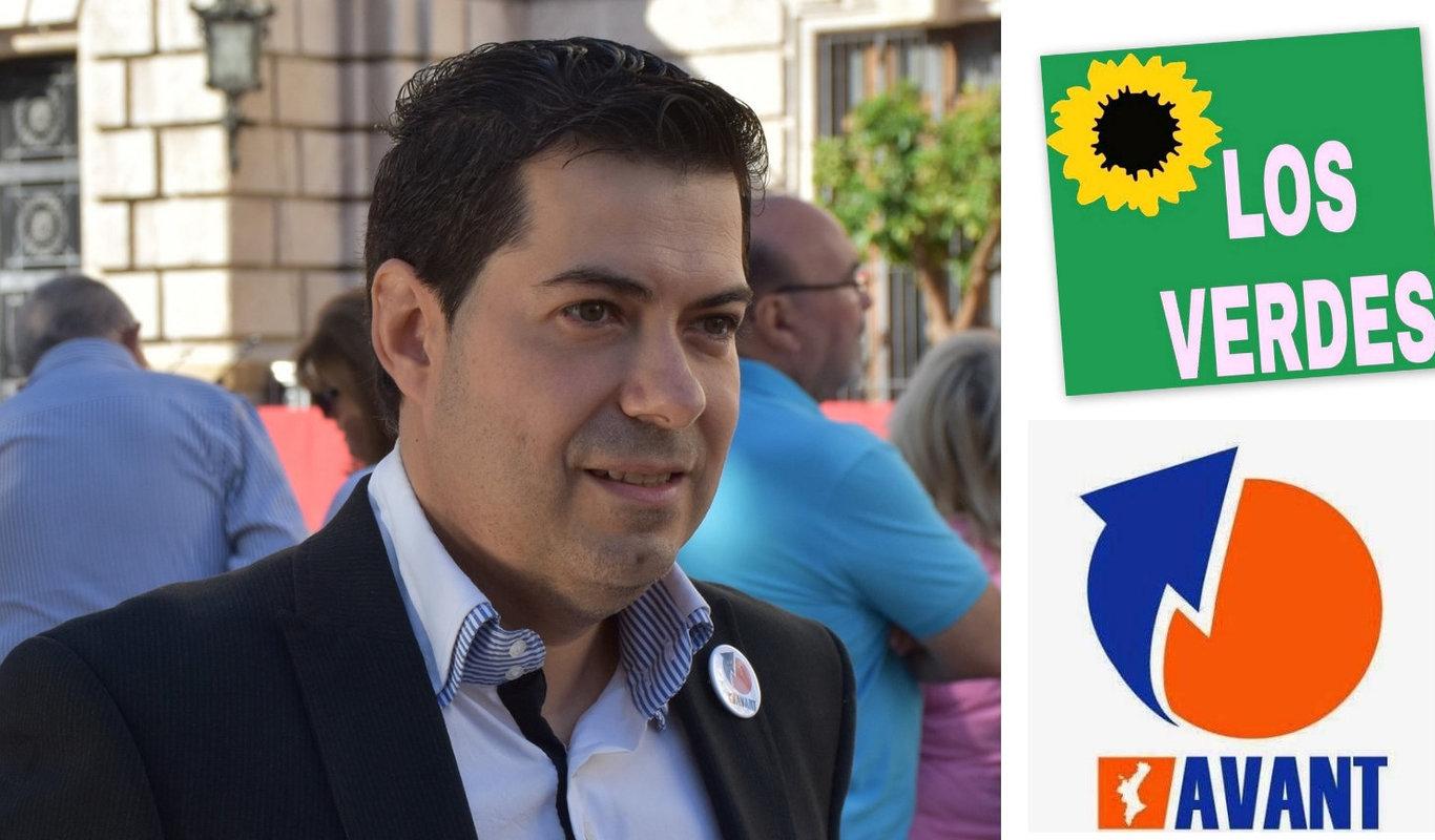 Vicente Bellvis, secretario general de AVANT-Adelante Los Verdes