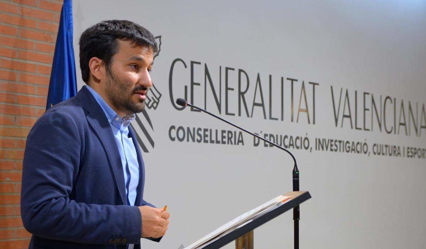 Vicent Marzà, consejero de Educación de la Generalitat Valenciana.