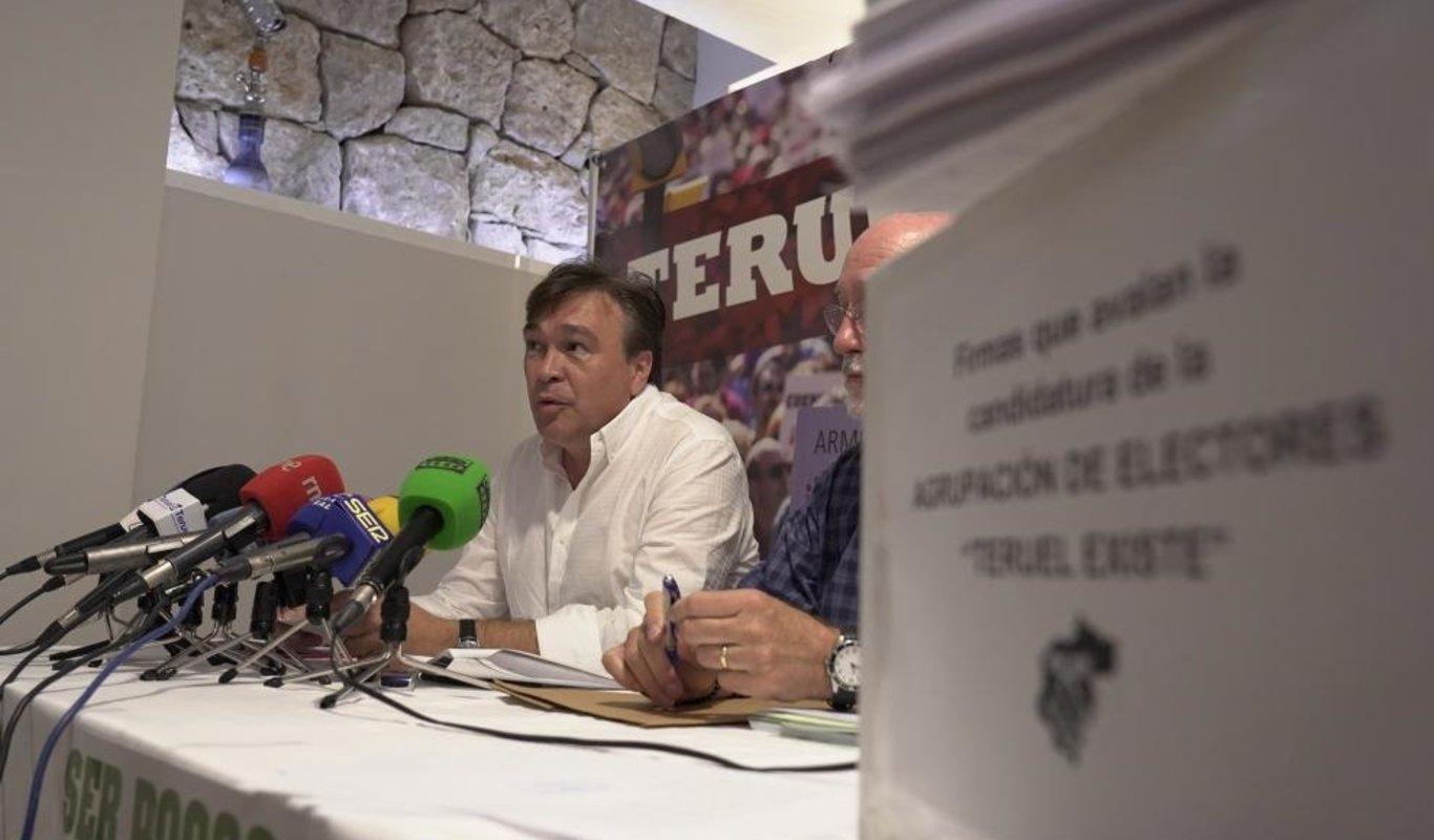 Tomas Guitarte, Teruel Existe.