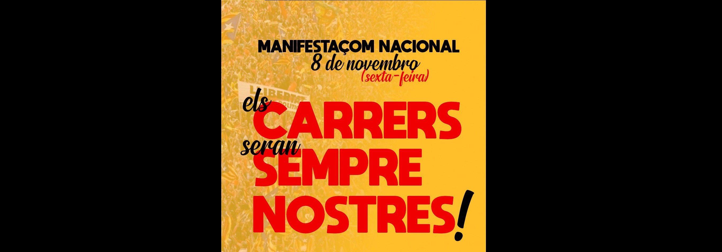 Movilizaciones en Compostela para apoyar a Tsunamic Democrat - El Confidencial Digital