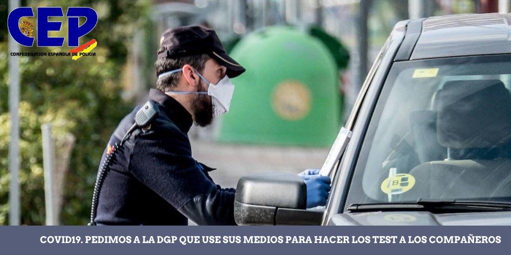 El servicio de sanidad de Asturias hará pruebas de coronavirus a los policías